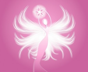 http://www.dreamstime.com/stock-image-angel-figure-holding-star-pink-image3440141